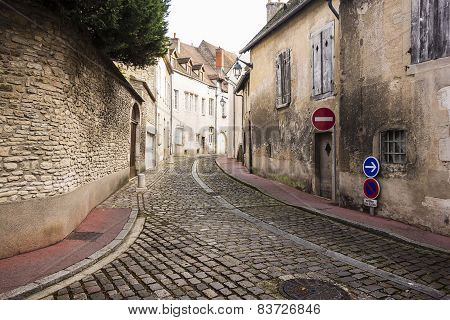 Village Street In France