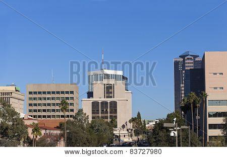Downtown of Tucson, AZ