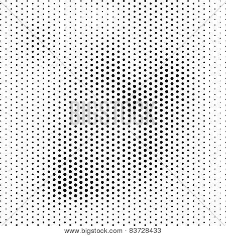 Halftone, Dotted Abstract Background