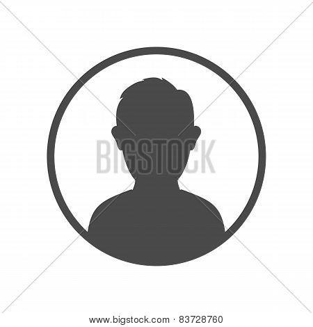 User avatar icon, sign, symbol