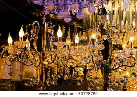 Beautiful Vintage Lighting Decor.