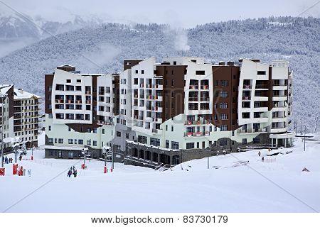 Hotel Rosa Ski Inn in Roza Khutor plateau