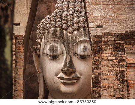 Buddha Statues,Wat Si Chum,Thailand.