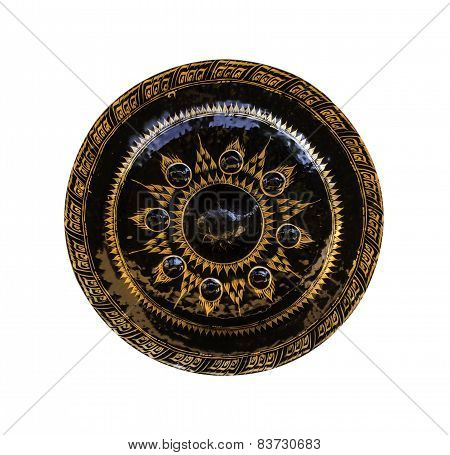 Gong With Painting