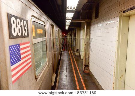 57Th Streen Subway Station - Manhatan, New York