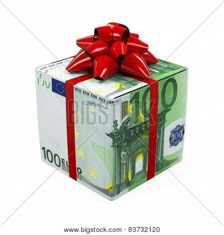 Euro Money Gift Box