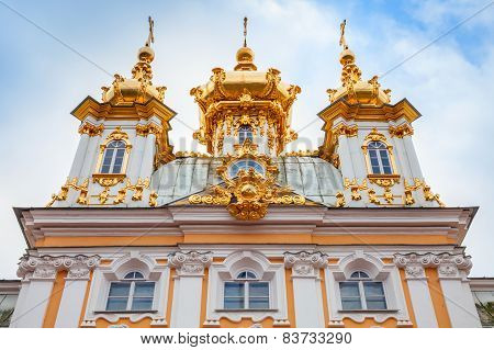 Church Of Saints Peter And Paul In Peterhof, Facade