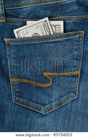 A Hundred Dollars In The Jeans Pocket
