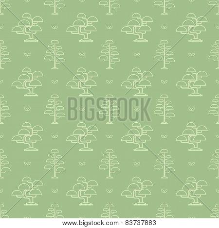 bonsai tree pattern