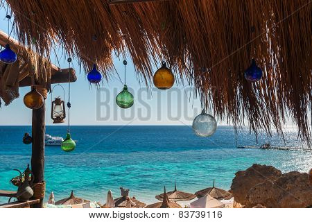 view of the local cafe, Sharm El Sheikh