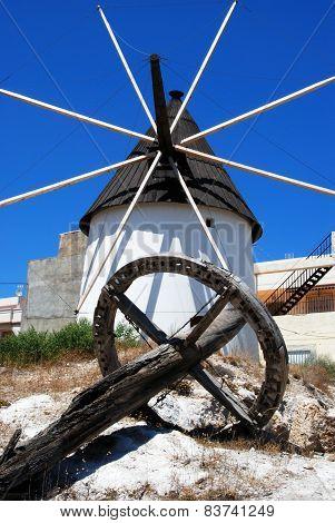 Spanish windmill, Carboneras.