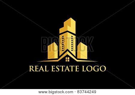 Vector Art Real Estate Logo