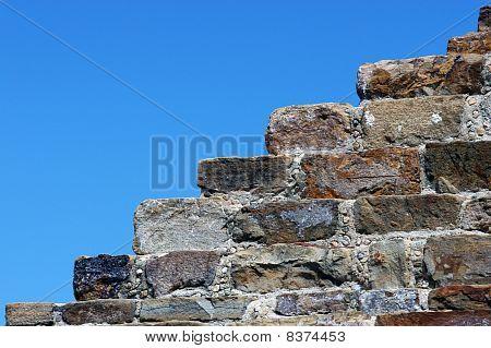 Ruins, Monte Alban, Mexico
