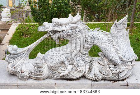 Dragon In Linh Ung Pagoda Vietnam Danang