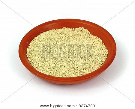 Small Bowl Active Dry Yeast