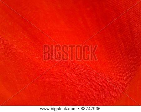 Red Wavy Fabric