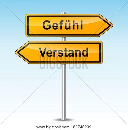 Emotion And Mind Signs (german Translation)