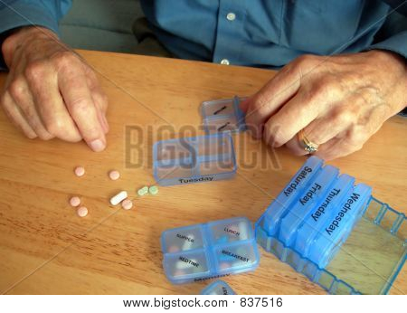 Man with Pills