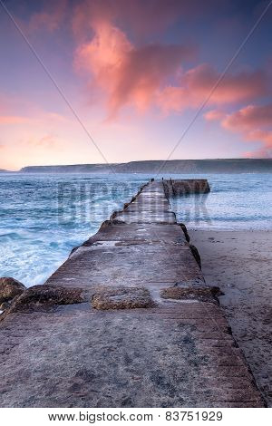 Sunset At Sennen Cove