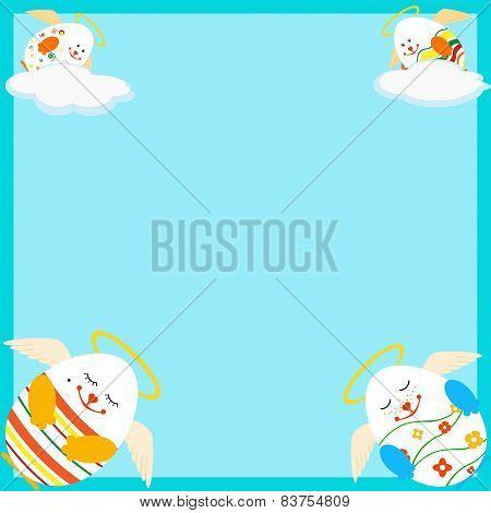 Holly Easter Eggs Card