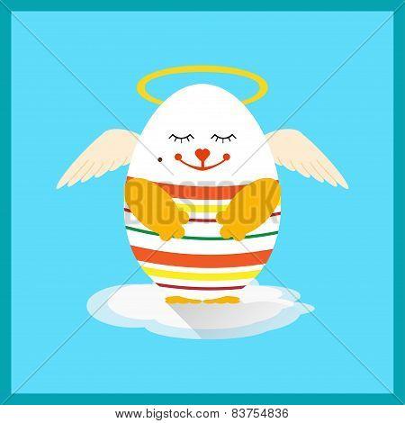 Holly Easter Egg