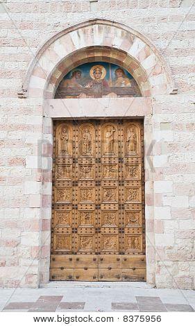 St. Croce Church. Bastia Umbra. Umbria.