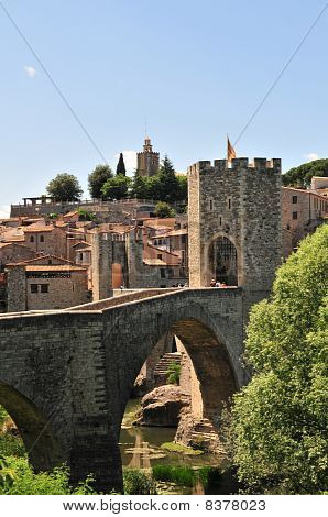 Besalu Medieval Bridge