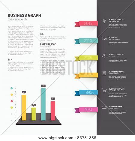Brochure, flyer, newsletter, annual report layout template. Business background concept.