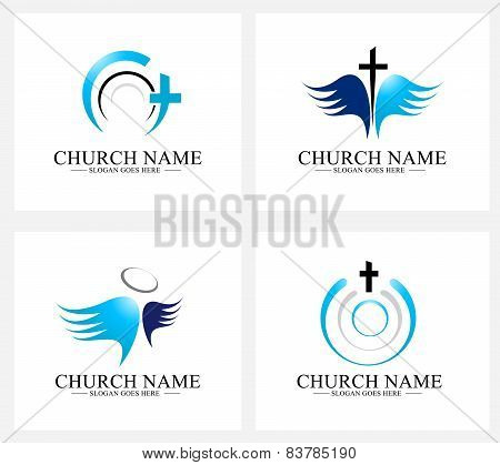 Church Logo Design Set