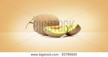 Japanese  melon fruit
