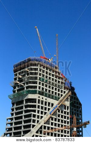 Construction Of Tower Building