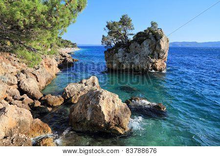 Brela Beach, Croatia