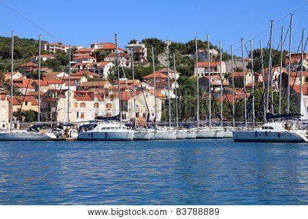Yachts In Mediterranean Sea