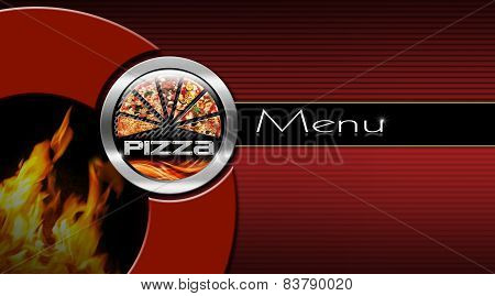 Pizza Menu Design
