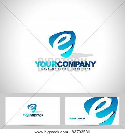 E Letter Logo Design