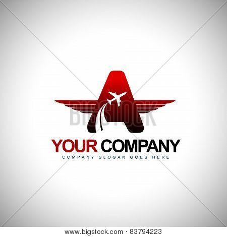 Plane Logo design Concept