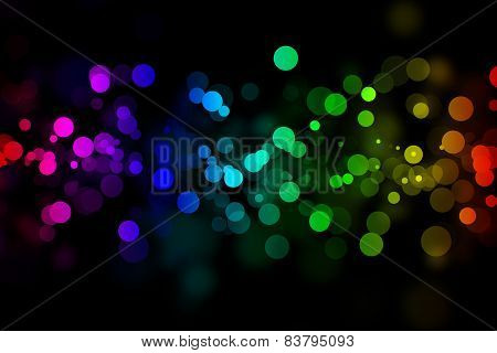 Bright Neon Background For Design