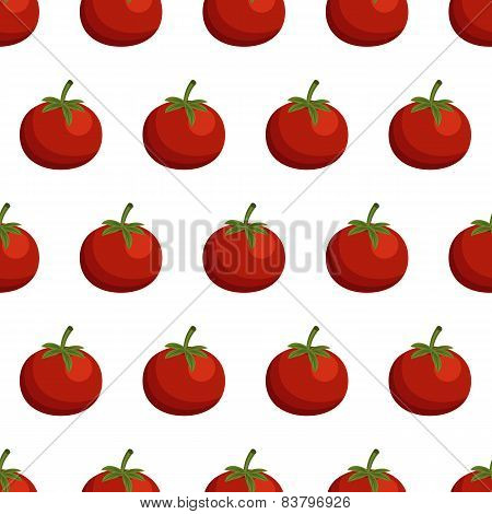 Seamless background with tomatos