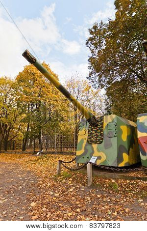 Soviet Coastal Gun Model Mu-2