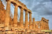 picture of parthenon  - Ruins of the Parthenon in Athens  - JPG