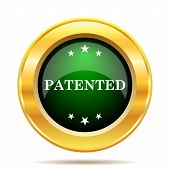 picture of plagiarism  - Patented icon - JPG
