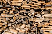 image of firewood  - Barbecue feast - JPG
