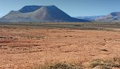 foto of volcanic  - wild volcanic landscape at Lanzarote Island Canary Islands Spain - JPG