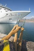 picture of cruise ship caribbean  - Big white cruise ship - JPG
