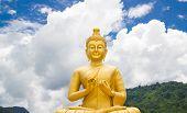 picture of buddha  - Buddha at Buddha Memorial park Nakorn nayok Thailand - JPG