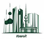 picture of kuwait  - City of Kuwait Famous Buildings - JPG