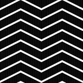 picture of zigzag  - Black and white seamless texture with zigzag pattern - JPG