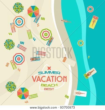 Summer Beach Banner