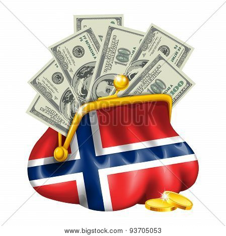 Economics and business purse Norway