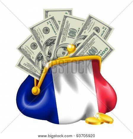 Economics and business purse France